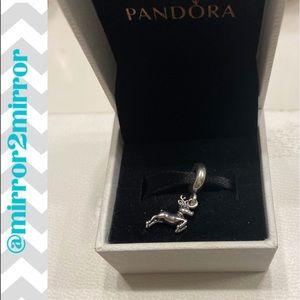 🎄Auth. Pandora Reindeer Dangle Charm